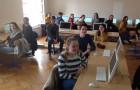U okviru suradnje s odsjekom za Hrvatski jezik i književnost