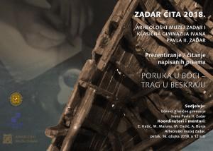 """Ususret manifestaciji """"Zadar čita 2018."""""""