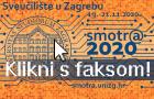 Smotra Sveučilišta u Zagrebu – Smotr@ 2020
